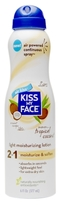 Kiss My Face 2 in 1 Light Moisturizing Lotion Tropical Coconut