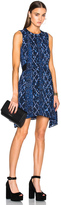 Proenza Schouler Printed Georgette Flared Dress