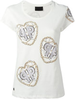Philipp Plein chain print T-shirt - women - Cotton - L