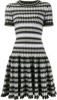 Alaia woven flared dress