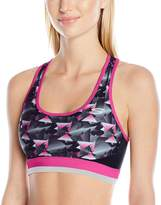 "Skechers Active Women's ""Triangle Dash"" Printed Sports Bra"