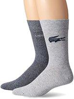 Lacoste Men's Fine Jacquard Sock
