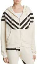 Wildfox Couture Triple Stripe Hoodie