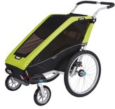 Infant Thule Chariot Cheetah Xt 2 Multisport Cycle Trailer/stroller