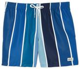 Bather Blue Gradient Swim Trunk