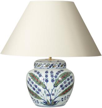 OKA Iznik Urn Table Lamp - Multi