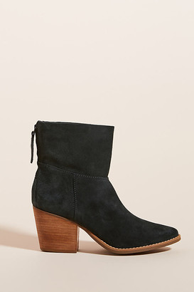 Matisse Easy Suede Western Boots By in Grey Size 6