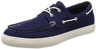 Timberland Men's Union Wharf 2 Eye Oxford Boat Shoes, Blue (Navy Canvas), 43 EU