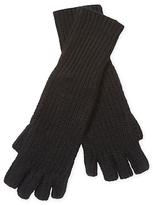 White + Warren Cashmere Fingerless Long Shaker Glove