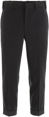 Neil Barrett Double Stripe Cuff Pants