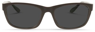 Dresden Vision Dark Chocolate UV Protected Sunglasses with Grey Tint