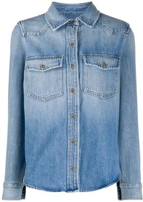Frame Denim Button-Up Shirt