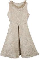 Rare Editions Embellished Brocade Dress, Big Girls (7-16)