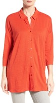 Eileen Fisher Women's Classic Collar Linen Jersey Tunic