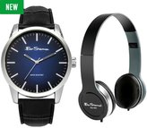 Ben Sherman Watch and Headphone Set