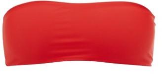 JADE SWIM All Around Bandeau Bikini Top - Womens - Red
