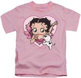 Betty Boop Cartoon I Love Betty Little Girls T-Shirt Tee