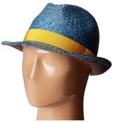 Etro Gradient Panama Hat Caps