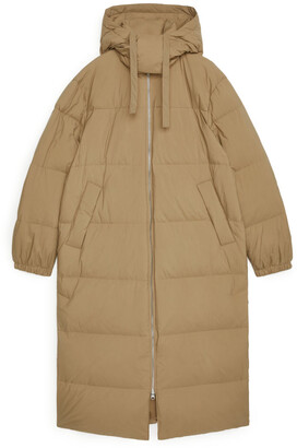 Arket Long Down Puffer Coat