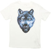 Diesel Bright White Wolf Tee - Boys