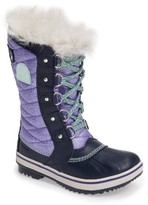 Sorel Girl's Tofino Ii Faux Fur Lined Waterproof Boot