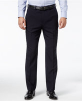 Nautica Men's Herringbone Flat Front Dress Pants