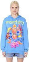 Moschino Monkey Print Cotton Jersey Sweatshirt
