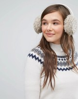 Jack Wills Beyla Faux Shearling Ear Muffs