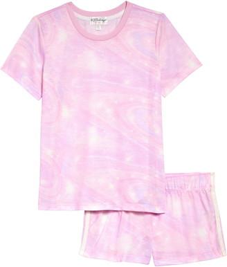 PJ Salvage Tie Dye Two-Piece Pajamas