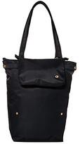 Pacsafe Citysafe CX Packable Anti-Theft Vertical Tote (Black) Handbags