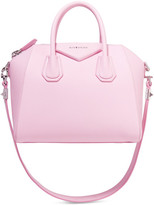 Givenchy Antigona Small Textured-leather Shoulder Bag - Baby pink