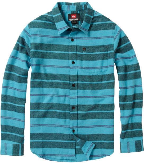 Quiksilver Boys 2-7 Sandy Back Long Sleeve Flannel Shirt