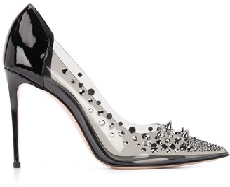 Le Silla Studded Pointed Pumps
