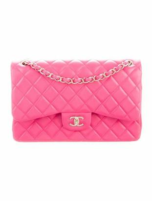 Chanel Classic Jumbo Double Flap Bag Pink