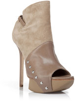 Camilla Skovgaard Desert High-Heeled Peep Toe Ankle Booties