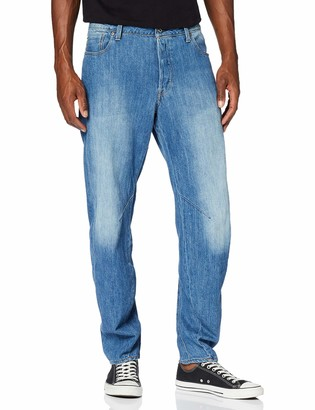 G Star Men's Arc 3D Relaxed Tapered Loose Fit Jeans