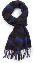 Nordstrom Men's Plaid Wool Scarf