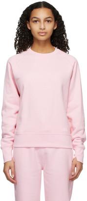 Rag & Bone Pink Fleece Sweatshirt