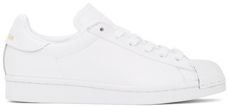 adidas White Superstar Pure Sneakers