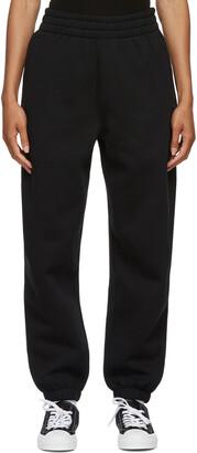 alexanderwang.t Black Terry Foundation Lounge Pants