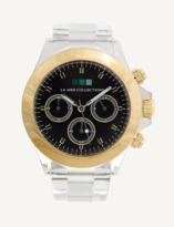 La Mer Gold Bezel / Black Dial Carpe Diem Watch.