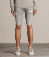 AllSaints Gilroy Switch Denim Shorts