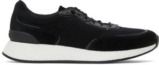 Ermenegildo Zegna Black Piuma Sneakers