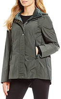 Antonio Melani Pine Velvet Trim Windbreaker Jacket