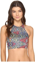 Roxy Poetic Mexic' Crop Tank Bikini Top Women's Swimwear