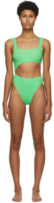 BOUND by Bond-Eye Green The Maya One-Piece Swimsuit
