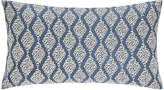 Sanderson Rosa Indigo Bed Cushion - 30x50cm