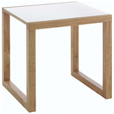 Habitat Kenstal Oak Side Table - White