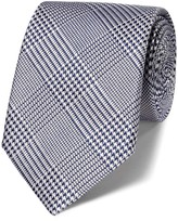 Charles Tyrwhitt Navy silk classic Prince of Wales tie