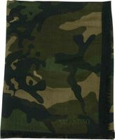 Valentino Funny Dragon Camouflage Scarf